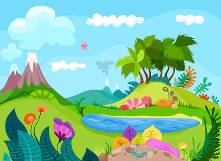 Illustration pour nature background - image libre de droit