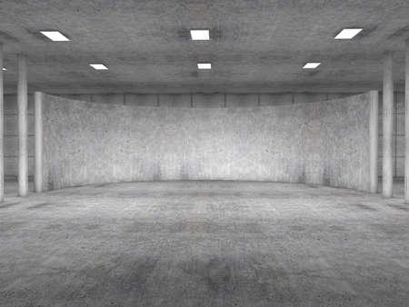 Foto de parking empty concrete - Imagen libre de derechos