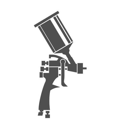 Illustration pour Spray Gun Icon - image libre de droit