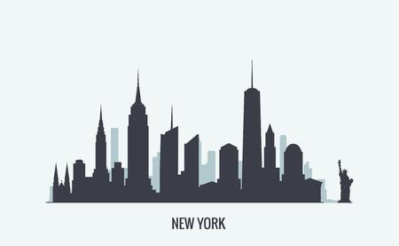 Ilustración de Vector graphics, flat city illustration, eps 10 - Imagen libre de derechos