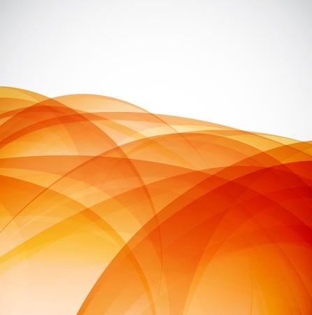 Sunshine orange background