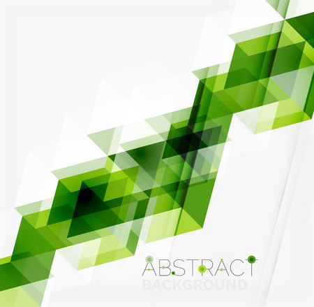 Illustration pour Abstract geometric background. Modern overlapping triangles - image libre de droit