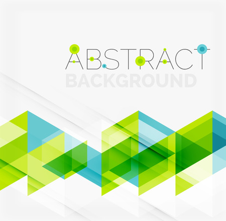 Illustration for Abstract geometric background. Modern overlapping triangles - Royalty Free Image