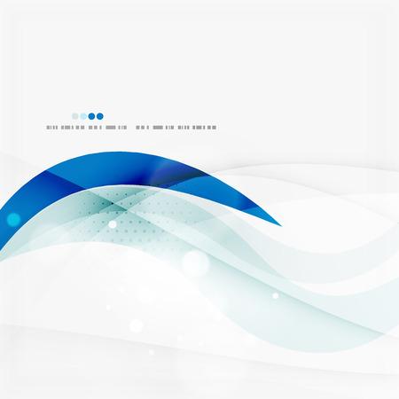 Foto de Blue business corporate wave line background - Imagen libre de derechos