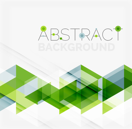 Ilustración de Abstract geometric background. Modern overlapping triangles - Imagen libre de derechos