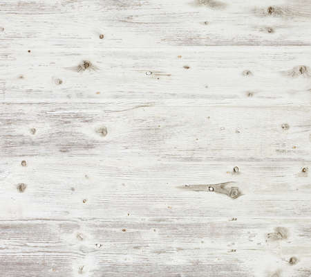 Photo for Old wooden board painted white  - Royalty Free Image