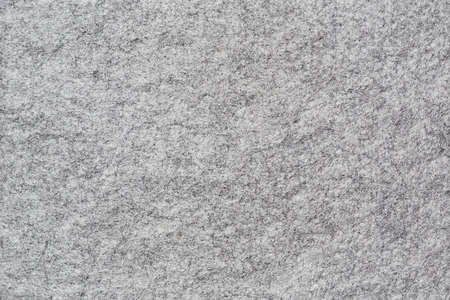 Photo pour Horizontal background of soft grey felt with genuine texture - image libre de droit
