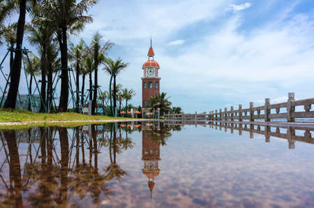 Photo for The bell tower after the rain in Haikou - Royalty Free Image