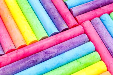 Foto de full frame chalk background color - Imagen libre de derechos