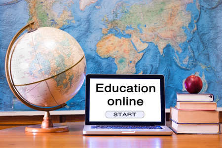 Photo for E-learning, education online concept - Royalty Free Image