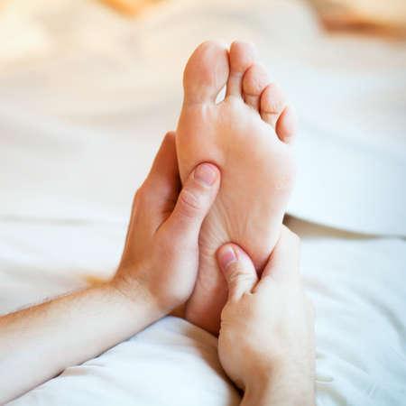 Foto de foot massage - Imagen libre de derechos
