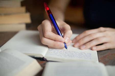 Foto de preparation for exam - Imagen libre de derechos