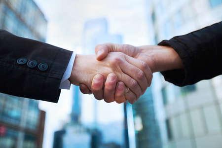 Photo for handshake - Royalty Free Image