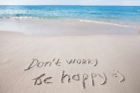 Foto de Don't worry, be happy - Imagen libre de derechos