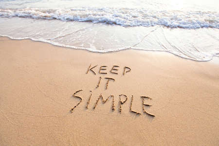 Photo for Keep it simple - Royalty Free Image