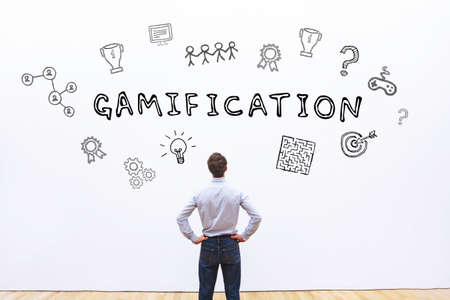 Photo for gamification concept - Royalty Free Image