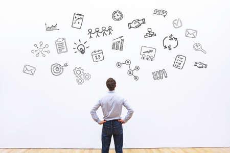 Foto de project management, abstract business concept - Imagen libre de derechos