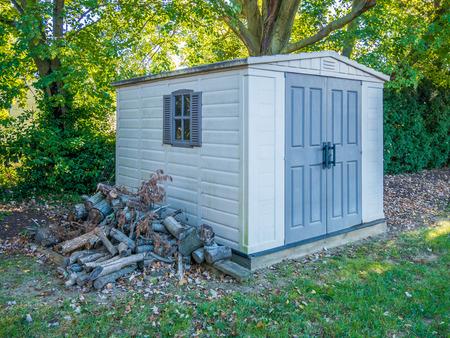 Photo pour Stock photo of the shed - image libre de droit