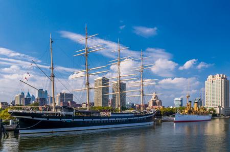 Photo for Ships at Penns Landing, Philadelphia, Pennsylvania - Royalty Free Image