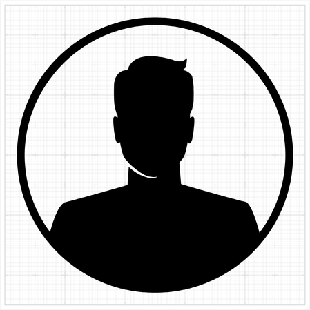 Illustration pour People profile silhouettes. vector illustration - image libre de droit