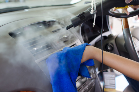 Foto per Clean the air of the car. - Immagine Royalty Free