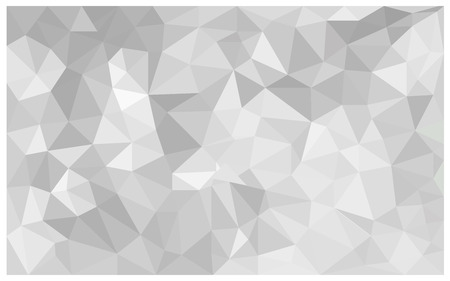 Illustration for abstract Gray background, low poly textured triangle shapes in random pattern, trendy lowpoly background - Royalty Free Image