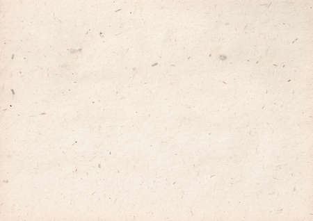 Photo for texture of light kraft paper sheet with soft dark brown grain shavings - Royalty Free Image