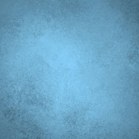 pale sky blue background with soft pastel vintage grunge background texture and light center spotlight for text or design on brochure or blue paper for baby boy birth announcement
