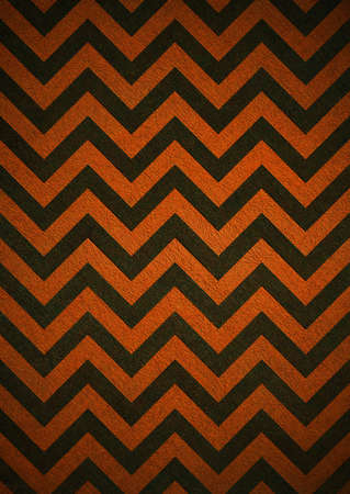 Retro orange background of black chevron stripes, grunge background texture design, abstract background paper, halloween background