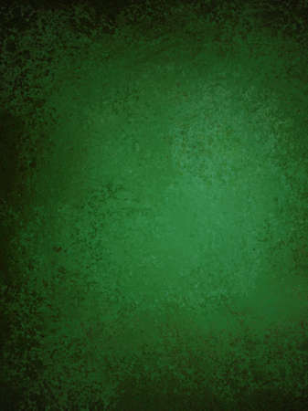 abstract green background with vintage grunge background texture and ribbon stripe design on elegant grungy dirty green brown wallpaper with blank copy space for ad or brochure, Christmas background