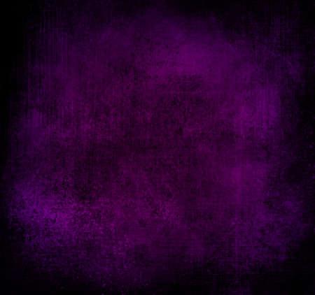 royal purple background black vignette frame old distressed vintage grunge background texture rough stain messy grungy background texture aged linen canvas purple paper wallpaper or brochure backdrop