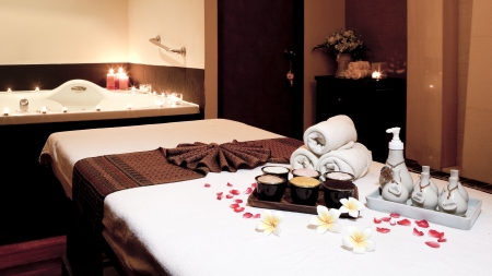 Wellness and spa concept