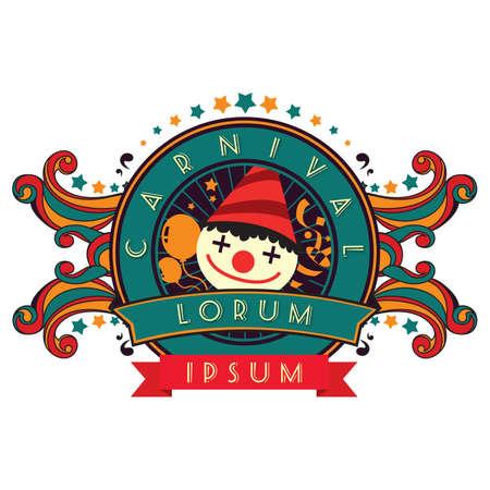 Illustrazione per Fun fair  - Immagini Royalty Free