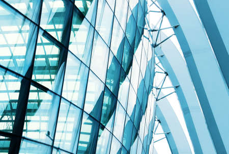 Photo pour closeup window glass building - image libre de droit