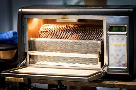 Foto de Small coffee roaster for home use. - Imagen libre de derechos