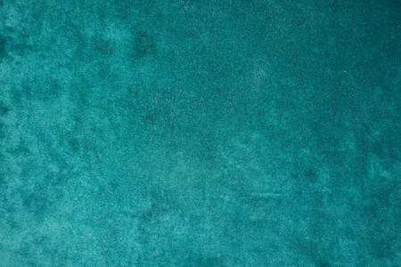 Foto de Top view of dark green velour fabric - Imagen libre de derechos