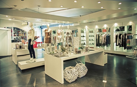 Foto de general view of modern store - Imagen libre de derechos