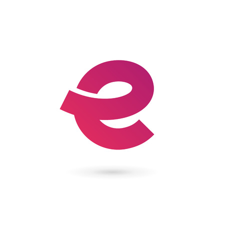 Ilustración de Letter E icon design template elements - Imagen libre de derechos