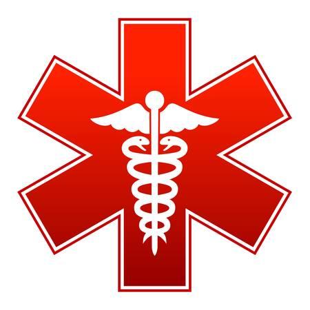 Illustration for Medicine sign - Royalty Free Image
