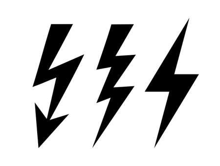 Illustration for Bolt icon - Royalty Free Image