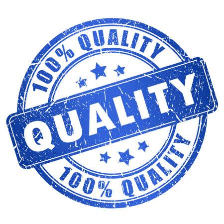 Illustration pour Quality stamp - image libre de droit
