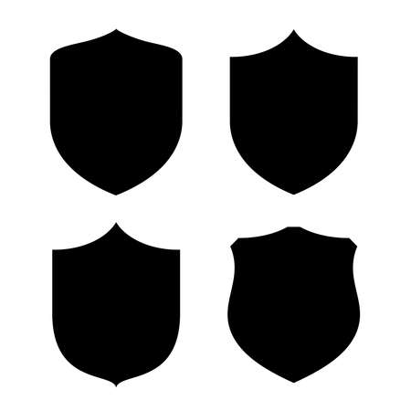 Illustration pour Shield shape - image libre de droit