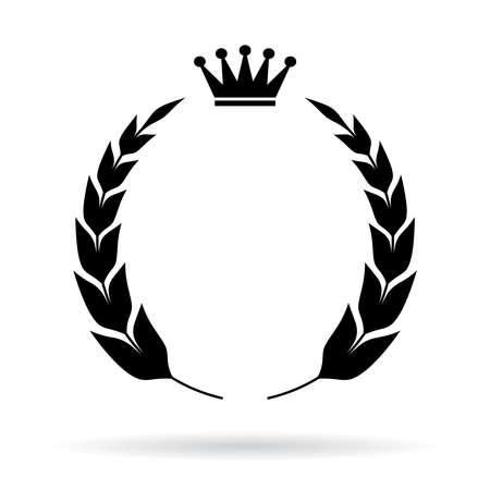 Illustration for Royal heraldic emblem - Royalty Free Image