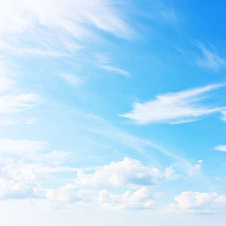 Blue sky, natural background