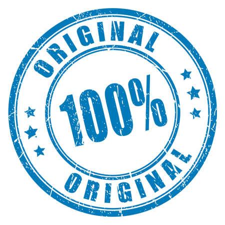 Ilustración de 100 original vector stamp - Imagen libre de derechos