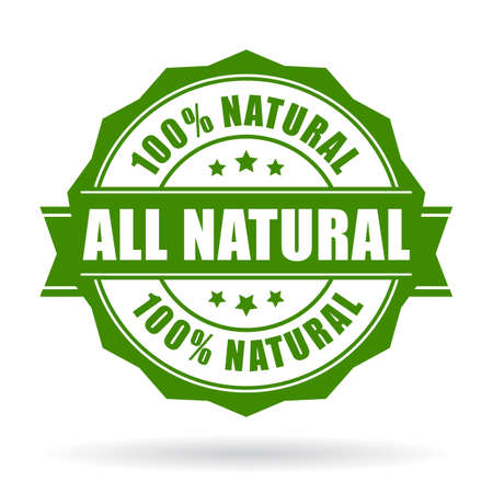 Illustration pour All natural vector icon - image libre de droit