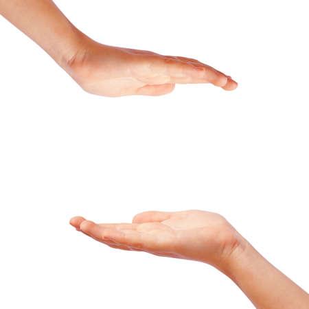 Foto de Protection hands - Imagen libre de derechos