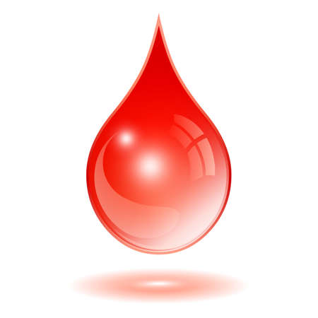 Illustration pour Drop of blood icon - image libre de droit