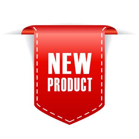 Illustration pour New product ribbon - image libre de droit
