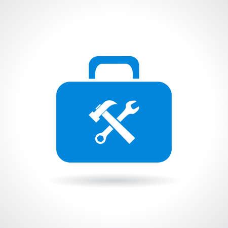 Illustration pour Tools chest icon - image libre de droit
